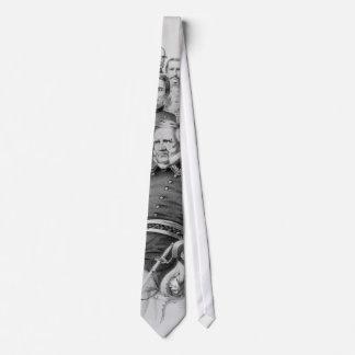 Generales de la guerra civil del lazo de la unión corbata personalizada