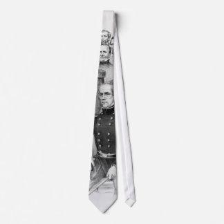 Generales de la guerra civil del lazo de la unión corbatas