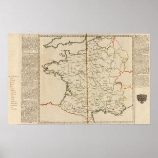 Generalidades de Francia Posters