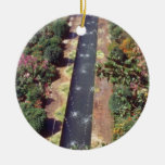 Generalife rosado, flujo de Alhambra, Granada, Esp Ornamentos De Navidad
