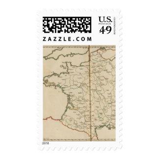 Generalities of France Stamp