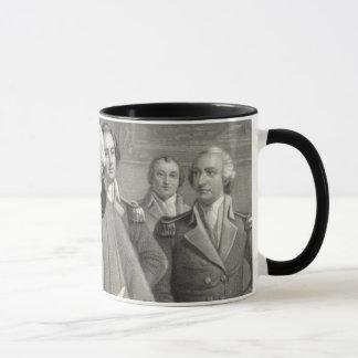 Generals of George Washington mug