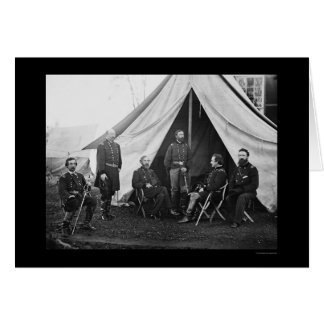 Generals of the Army of the Potomac 1863 Greeting Card