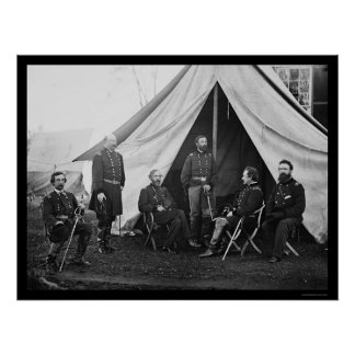 Generals of the Army of the Potomac 1863 Print