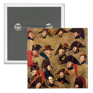 Generals of the Camp de Boulogne 2 Inch Square Button