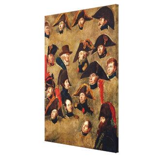 Generals of the Camp de Boulogne Canvas Print