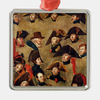 Generals of the Camp de Boulogne Christmas Tree Ornaments