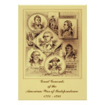 Generals of the War of Independence Poster