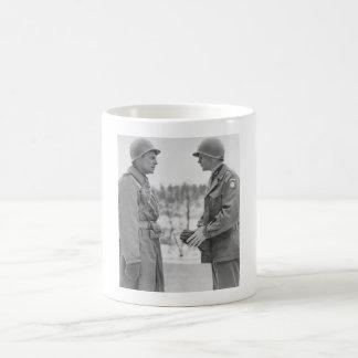 Generals Ridgway and Gavin - Battle of the Bulge Coffee Mug