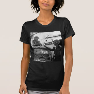Generaly George S. Patton and Colonel Lyle Bernard Tshirt