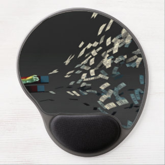 Generate Wealth and Income as a Business Concept Gel Mouse Pad