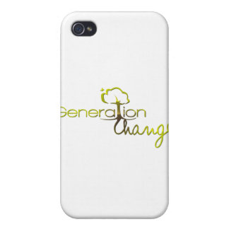 Generation Change iPhone 4 Cases