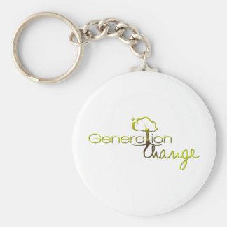 Generation Change Key Chain