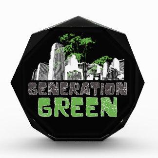 Generation Green Acrylic Award