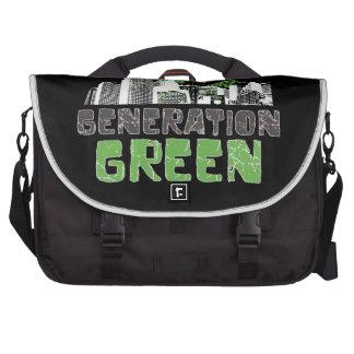 Generation Green Computer Bag