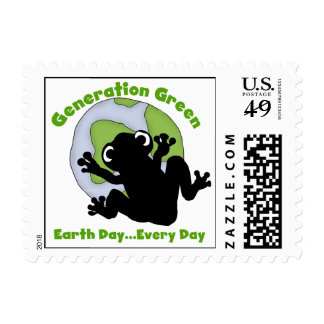 Generation Green T-shirts and Gifts Postage Stamps