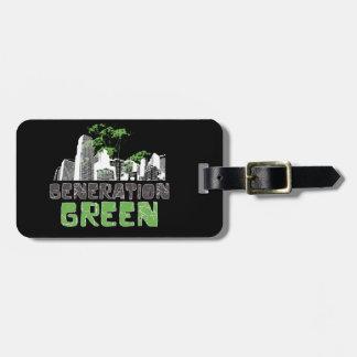 Generation Green Travel Bag Tag