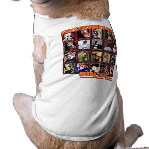 GENERATION ONLINE 1point2 Myspace friends collage Dog Shirt