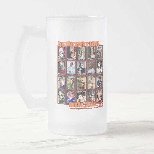GENERATION ONLINE 1point2 Myspace friends collage Coffee Mugs