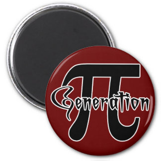 generation pi t-shirts and gifts 2 inch round magnet
