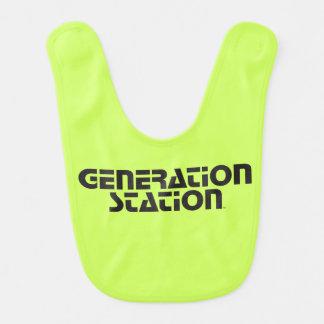 """""""Generation Station"""" Baby Bib"""