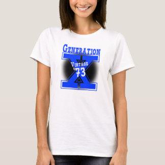 Generation X Vintage 1973 T-Shirt