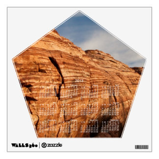 Generations in Red Rock; 2013 Calendar Wall Decal