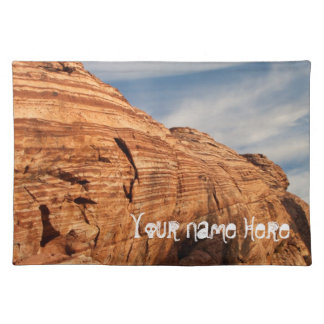 Generations in Red Rock; Customizable Cloth Placemat