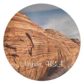 Generations in Red Rock; Nevada Souvenir Dinner Plate