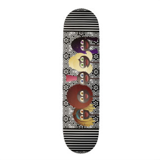 Generations of African American Women Skateboard