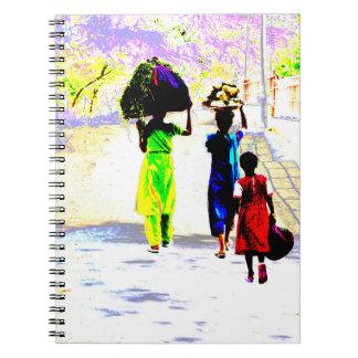 Generations - Women at work (Notebook) Spiral Notebook