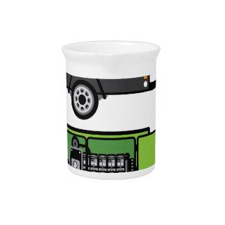 Generator trailer vector drink pitcher