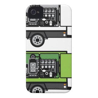 Generator trailer vector iPhone 4 Case-Mate cases