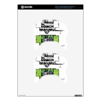 Generator trailer vector xbox 360 controller skin
