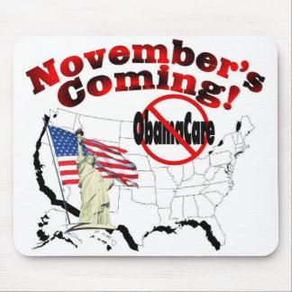 Generic Anti ObamaCare – November's Coming! Mouse Pad