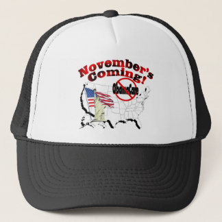 Generic Anti ObamaCare – November's Coming! Trucker Hat