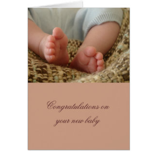 Generic Baby Greeting Card