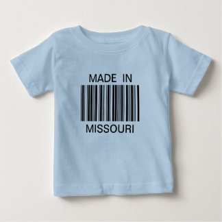 Generic Bar Code Made In T-shirt