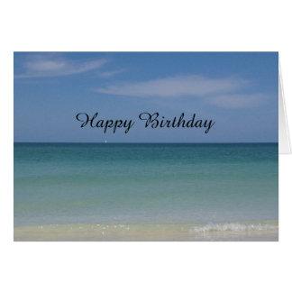 Generic Birthday Card Beach