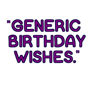 generic birthday greeting gifts on zazzle