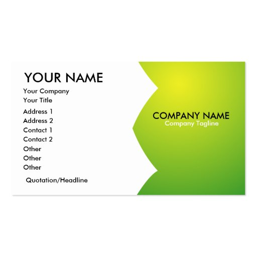 Generic Business Card