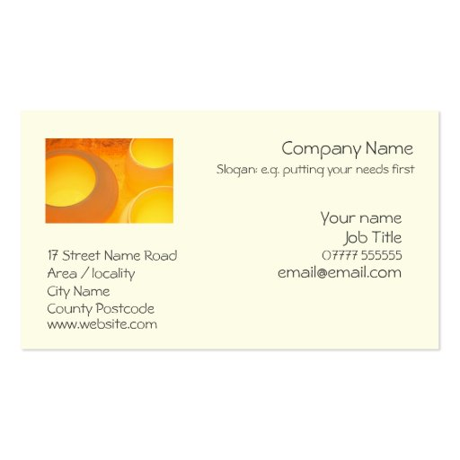 Generic business card template zazzle for Generic business cards