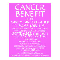 Generic Cancer Benefit Flyer