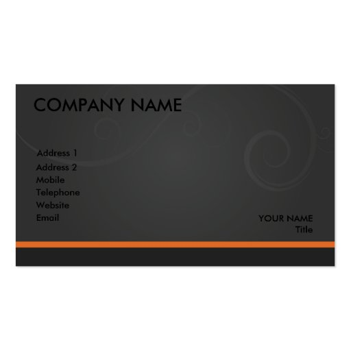 Generic Card... Business Cards