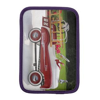 Generic Childs Metal Pedal Car Firetruck Car iPad Mini Sleeves
