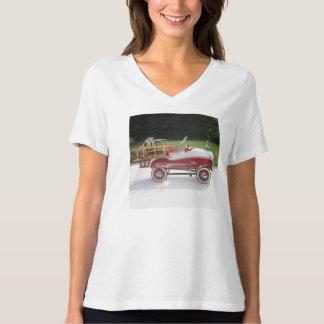 Generic Childs Metal Pedal Car Firetruck Car T-Shirt