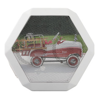 Generic Childs Metal Pedal Car Firetruck Car White Bluetooth Speaker