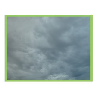 Generic Cloud Cover Over Kinross Postcard