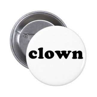 Generic CLOWN T shirt for Halloween Button