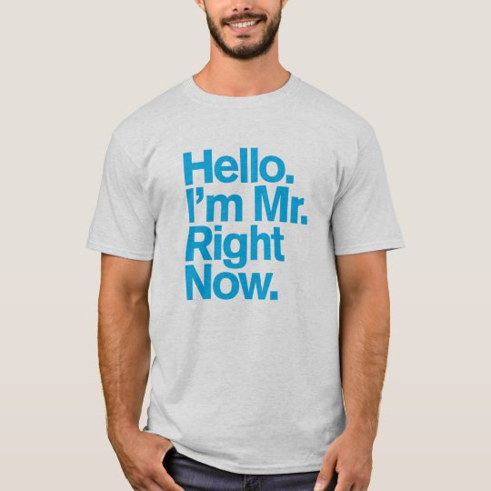 Generic Comedy™ / Mr. Right Now. T-Shirt